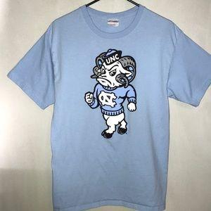 Men's UNC Tar Heels T Shirt Tar Heel in Blue, M